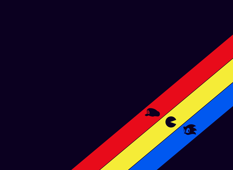 gaming_3_striped_wallpaper_dark