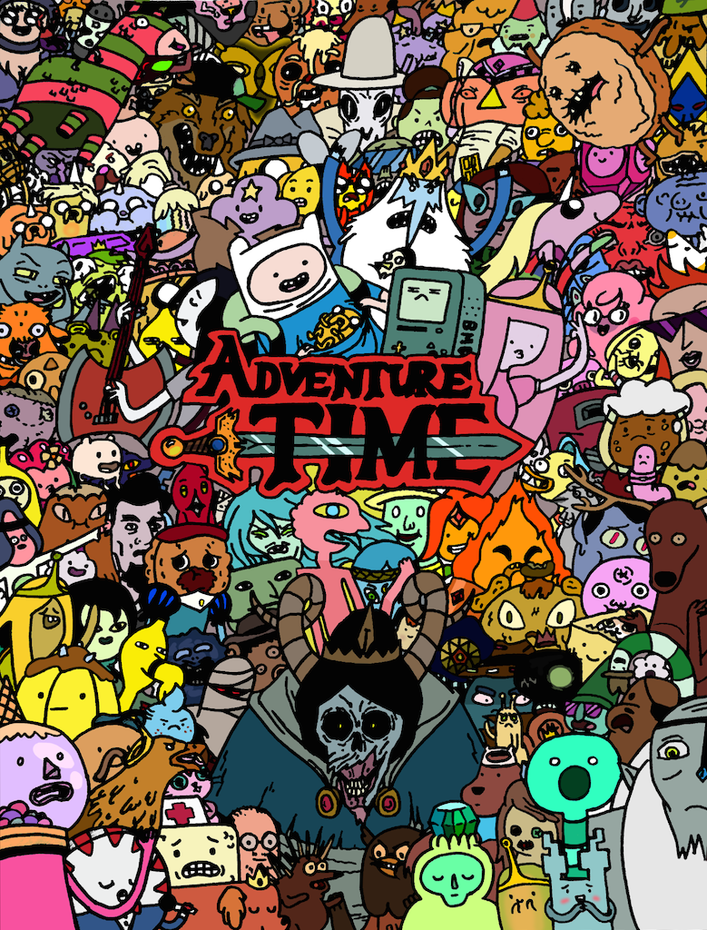 adventure-time-poster-thing
